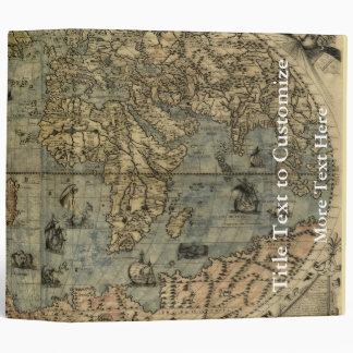 1565 Ferando Berteli (Fernando Bertelli) World Map Binders