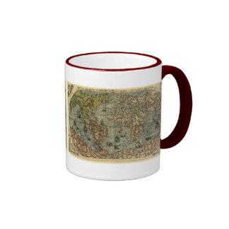 1565 Ferando Berteli (Fernando Bertelli) World Map Mug