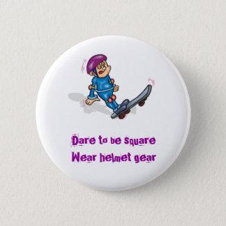 15771511[1]Dare to be square 2 Inch Round Button