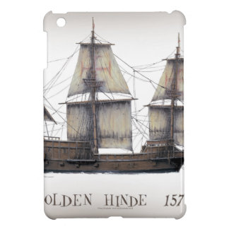 1578 Golden Hinde ship Cover For The iPad Mini