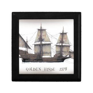 1578 Golden Hinde ship Gift Box