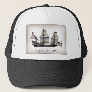 1578 Golden Hinde ship Trucker Hat