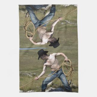 15807-RA Cowboy Kitchen Towel