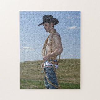 15876-RA Cowboy Jigsaw Puzzle