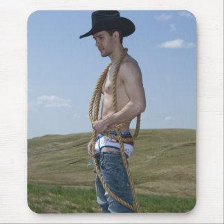 15876-RA Cowboy Mouse Pad