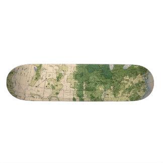 158 Oats/sq mile Skate Board Decks