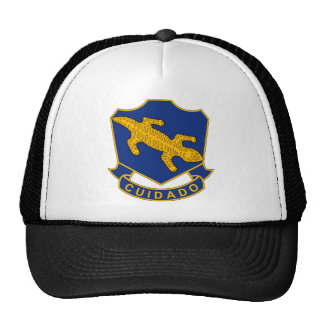 158th Infantry Regiment - Cuidado - Take Care Trucker Hat