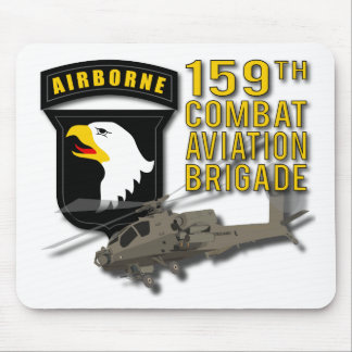 159th Combat Aviation Bde Apache Mouse Pad