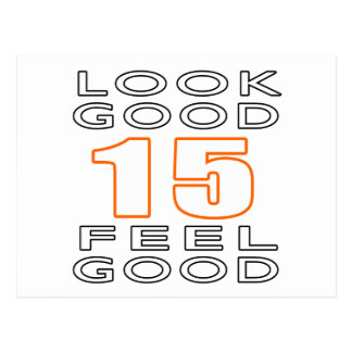 15 Look Good Feel Good Post Cards