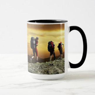 15 oz Cobmo Ringer Hike 1080 Mug By Zazz_it