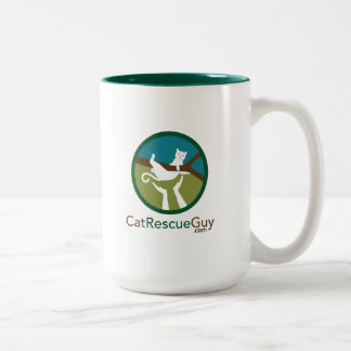 15 oz logo front and back Two-Tone coffee mug