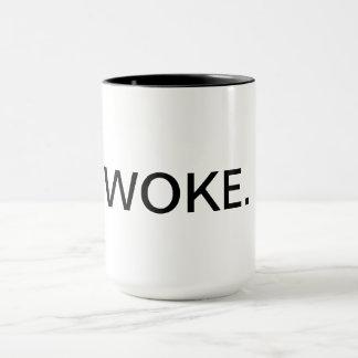"""15 oz. """"Woke."""" Coffee Mug"""