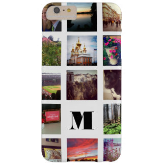 15 photos décorées d'un monogramme d'Instagram sur Coque iPhone 6 Plus Barely There