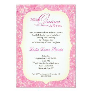 15 Quinceanera Birthday Invitation