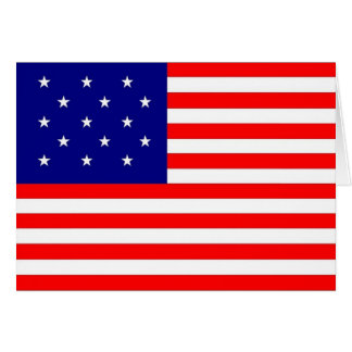 15 star/15 stripe flag - Card