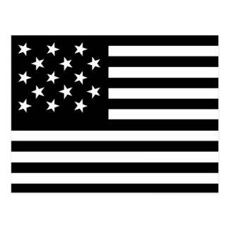 15 tenez le premier rôle-nous drapeau carte postale