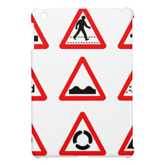15 Triangle Traffic Signs Cover For The iPad Mini