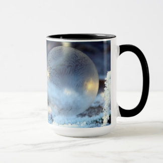 15oz Christmas Custom Blue Orniment By Zazz_it Mug