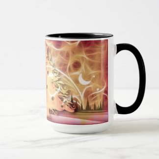 15oz Christmas Custom Red Mug 347 By Zazz_it