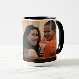 15oz Combo Custom Coffee LOVE2 Mug By Zazz_it