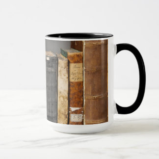 15oz Custom Book Coffee Mug By Zazz_it
