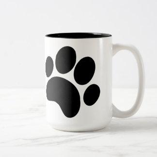 15oz Paw Print Mug