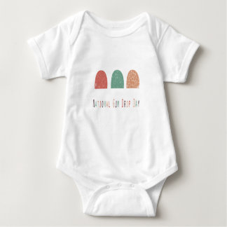15th February - Gumdrop Day - Appreciation Day Baby Bodysuit