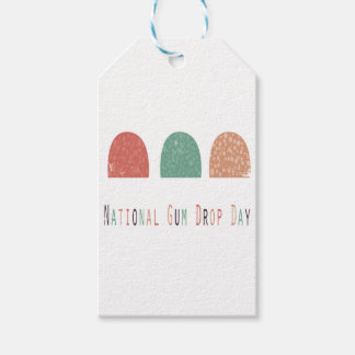 15th February - Gumdrop Day - Appreciation Day Gift Tags