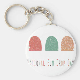 15th February - Gumdrop Day - Appreciation Day Keychain