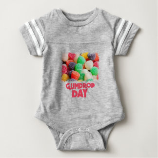 15th February - Gumdrop Day Baby Bodysuit