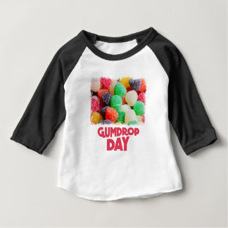 15th February - Gumdrop Day Baby T-Shirt