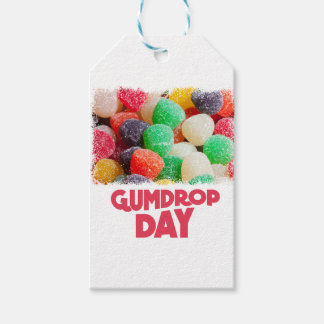 15th February - Gumdrop Day Pack Of Gift Tags
