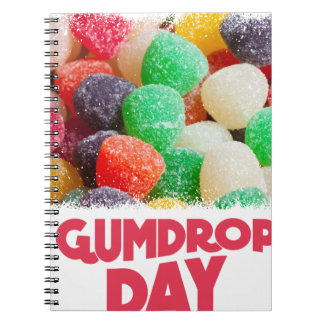 15th February - Gumdrop Day Spiral Notebooks