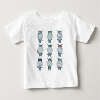 15th February - Hippo Day - Appreciation Day Baby T-Shirt