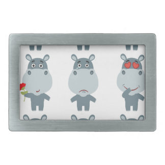 15th February - Hippo Day - Appreciation Day Belt Buckles
