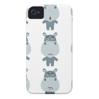 15th February - Hippo Day - Appreciation Day iPhone 4 Case-Mate Cases