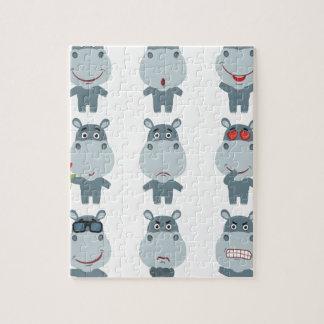 15th February - Hippo Day - Appreciation Day Jigsaw Puzzle