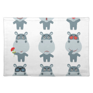 15th February - Hippo Day - Appreciation Day Placemat