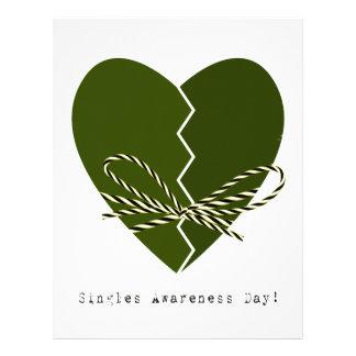 15th February - Singles Awareness Day Letterhead