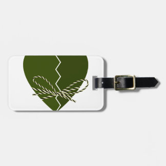 15th February - Singles Awareness Day Luggage Tag