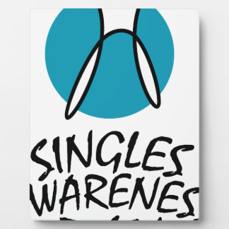 15th February - Singles Awareness Day Plaque