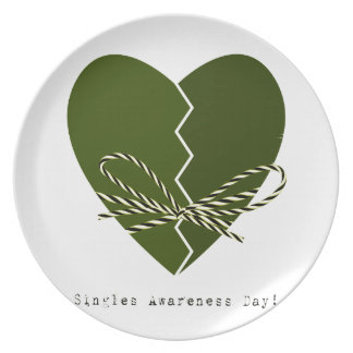 15th February - Singles Awareness Day Plate