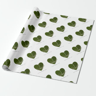 15th February - Singles Awareness Day Wrapping Paper