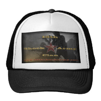 15th Shock Army Cap Trucker Hat