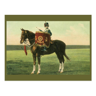 15th The King's Hussars Little Drummer boy Postcard