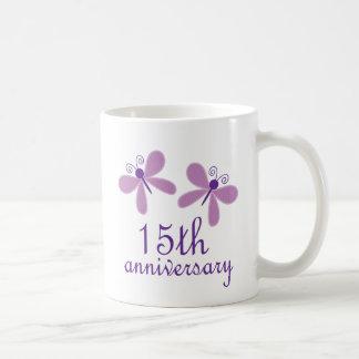 15th Wedding Anniversary Coffee Mug