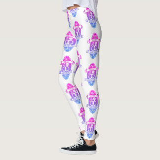 15th Year traditional crystal wedding anniversary Leggings