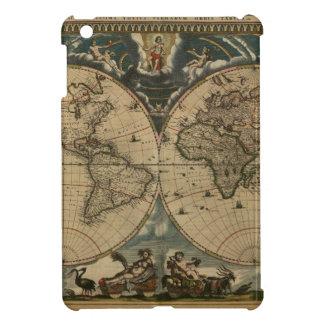 1600s original painted world map iPad mini cases