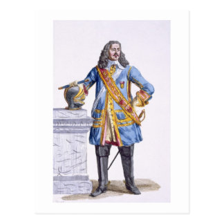 1608-70) ducs de George Monke (d'Albermarle de 'au Carte Postale