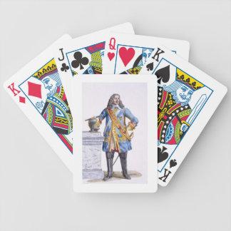 1608-70) ducs de George Monke (d'Albermarle de 'au Jeu De Cartes Poker